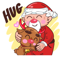 Merry ChristMas & Happy New Year Stickers messages sticker-3