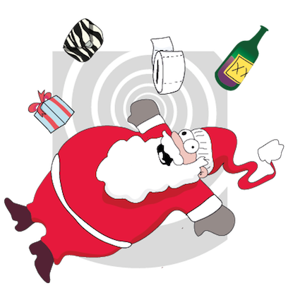 Santa's Stickers messages sticker-1
