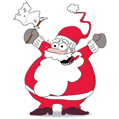 Santa's Stickers messages sticker-10