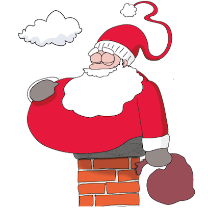 Santa's Stickers messages sticker-5
