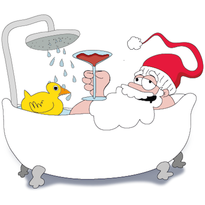 Santa's Stickers messages sticker-0