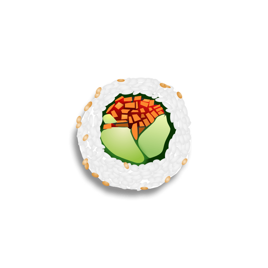 Bentoji | Japanese Sushi to share with friends messages sticker-9