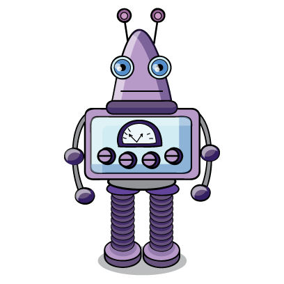 Robots messages sticker-1