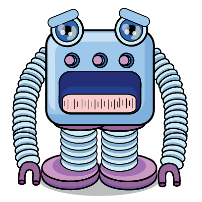 Robots messages sticker-0