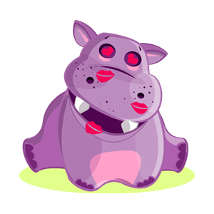 Hippo Cute Sticker messages sticker-4