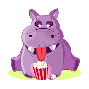 Hippo Cute Sticker messages sticker-2