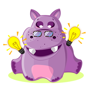 Hippo Cute Sticker messages sticker-3