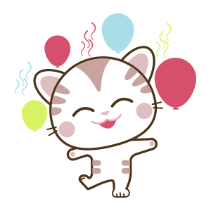 Cat Cute - Animated Sticker messages sticker-3