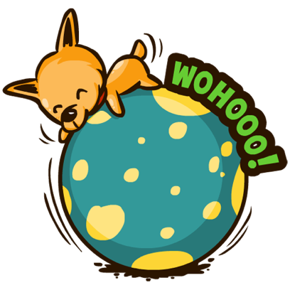Moka the Corgi messages sticker-6
