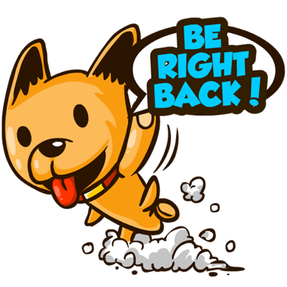 Moka the Corgi messages sticker-10