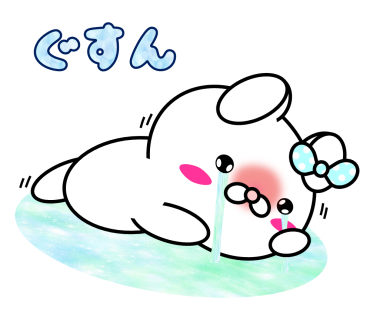 Blusher rabbit (free) messages sticker-9