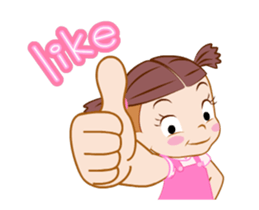 Say It With Baby Girl messages sticker-7