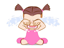 Say It With Baby Girl messages sticker-3