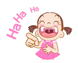 Say It With Baby Girl messages sticker-1
