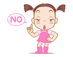 Say It With Baby Girl messages sticker-2