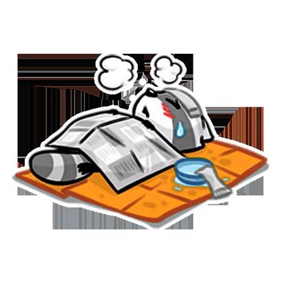 Mapachin Stickers messages sticker-2