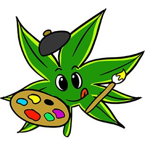 Cannabis.net Weedmojis messages sticker-8