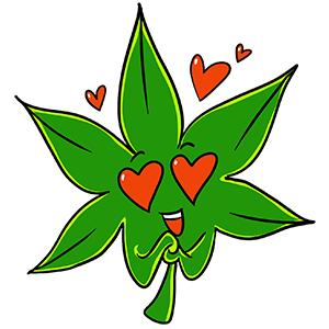 Cannabis.net Weedmojis messages sticker-7