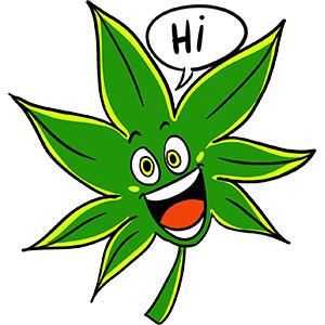 Cannabis.net Weedmojis messages sticker-2