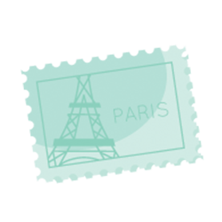 Paris Stickers iMessage messages sticker-9