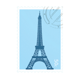 Paris Stickers iMessage messages sticker-10