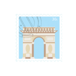 Paris Stickers iMessage messages sticker-3
