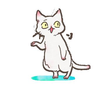 White Cat messages sticker-11