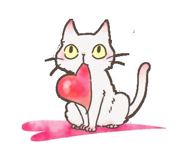 White Cat messages sticker-8