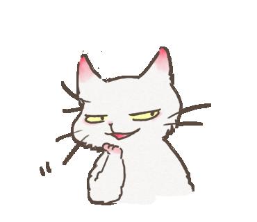 White Cat messages sticker-6