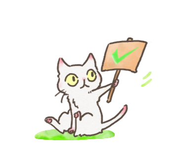 White Cat messages sticker-2