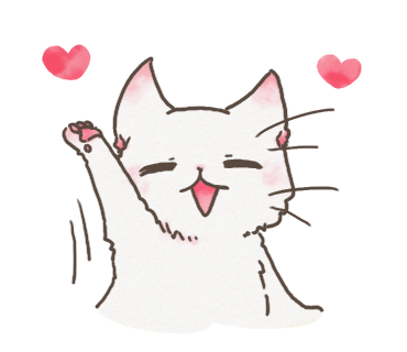 White Cat messages sticker-0