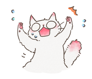 White Cat messages sticker-7