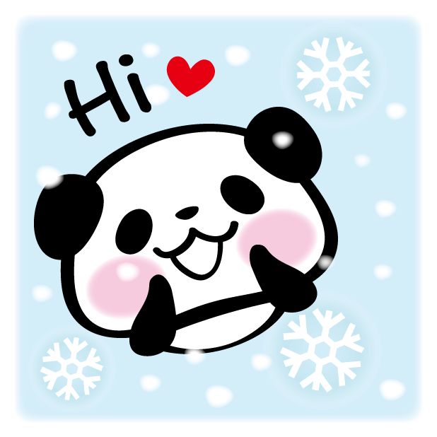 Pandaaa!!! Xmas Stickers for iMessage messages sticker-1