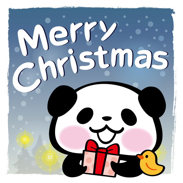 Pandaaa!!! Xmas Stickers for iMessage messages sticker-4