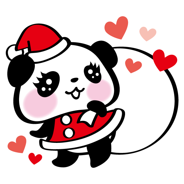 Pandaaa!!! Xmas Stickers for iMessage messages sticker-8