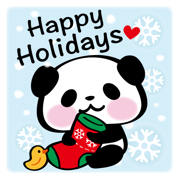 Pandaaa!!! Xmas Stickers for iMessage messages sticker-10