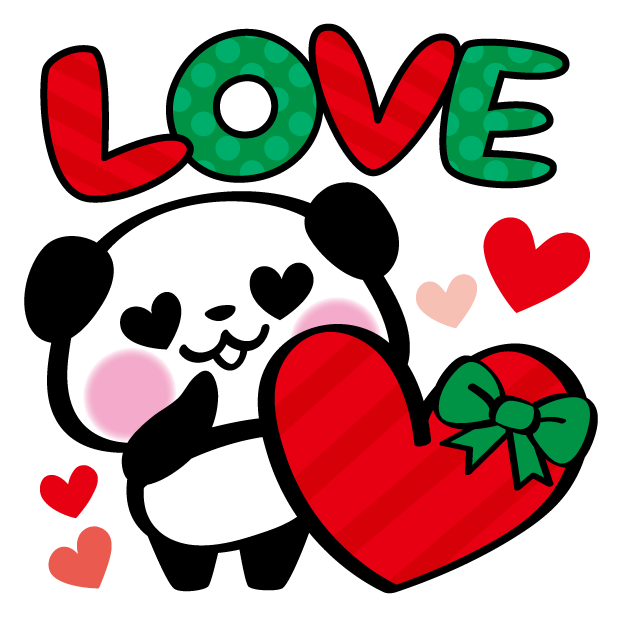 Pandaaa!!! Xmas Stickers for iMessage messages sticker-2