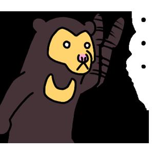 """Nationwide""""Kuma-chan""""dedicated sticker! messages sticker-9"""