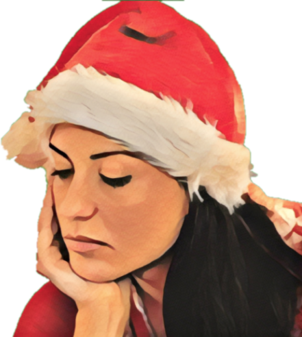 Sad Christmas and New Year Stickers for iMessage! messages sticker-10