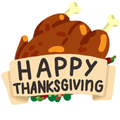 Thanksgiving Day Stickers Pack messages sticker-10