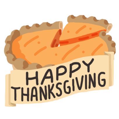Thanksgiving Day Stickers Pack messages sticker-4