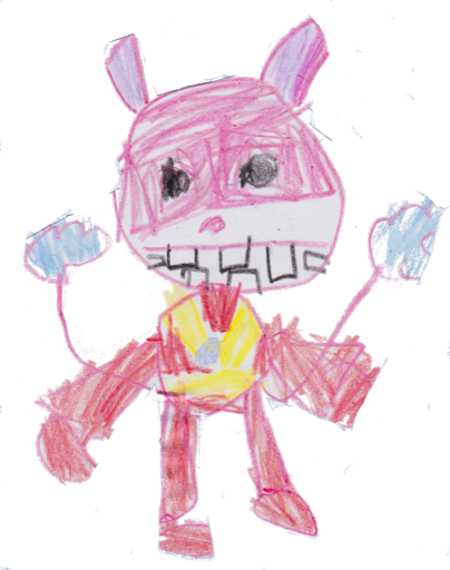 Kids Drawings messages sticker-9