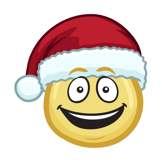 Merry Christmas Emojis - Christmas Stickers messages sticker-5