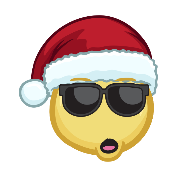 Merry Christmas Emojis - Christmas Stickers messages sticker-7