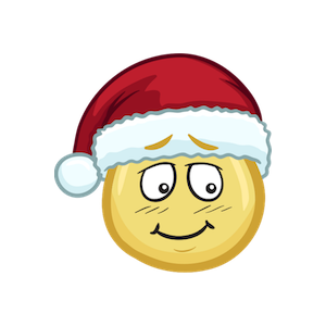 Merry Christmas Emojis - Christmas Stickers messages sticker-2