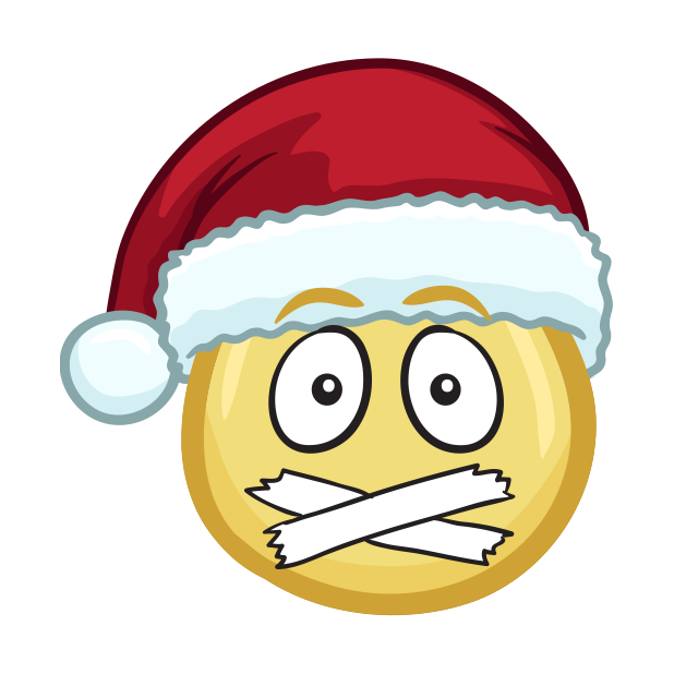 Merry Christmas Emojis - Christmas Stickers messages sticker-9