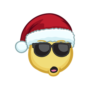 Merry Christmas Emojis - Christmas Stickers messages sticker-6