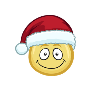 Merry Christmas Emojis - Christmas Stickers messages sticker-10