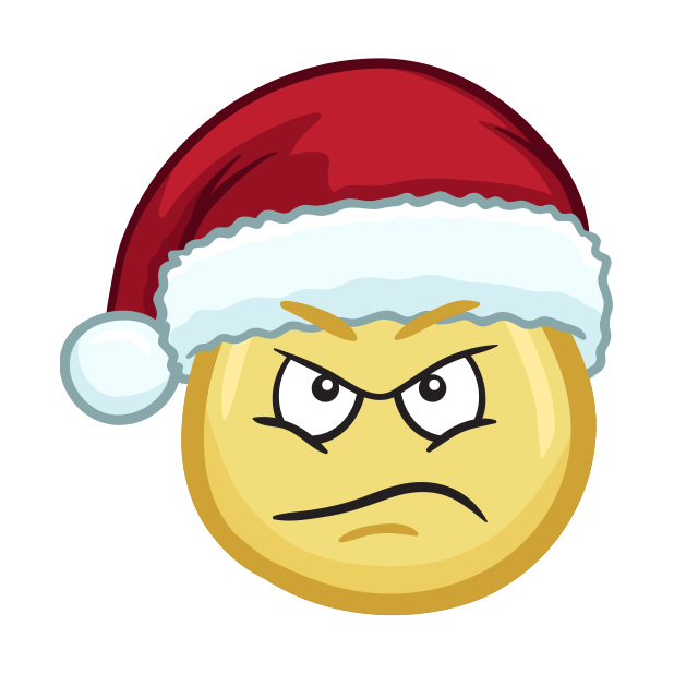 Merry Christmas Emojis - Christmas Stickers messages sticker-1