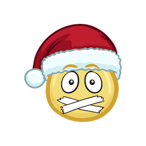 Merry Christmas Emojis - Christmas Stickers messages sticker-8